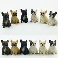 JJM Sit French Bulldog Dog Pet Figure Animal Model Collector Toy Decoration Gift