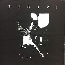 Fugazi Band Back Patch NEW Black Canvas Ian Mackaye Straight Edge