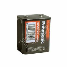 4 Panasonic PP9 Zinc Chloride 9 V Battery M1603 GP1603S 6F100 Lantern Radio