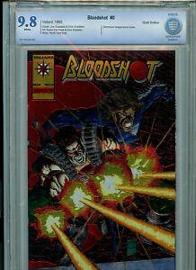 Bloodshot Issue #0 CBCS 9.8 NM/M Gold Chromium Cover Variant Valiant Comic B9