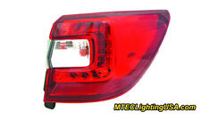 TYC Right Outer Side Tail Light Lamp Assembly for Subaru Outback 2015