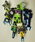 Transformers Energon Steamhammer Sledge Duststorm Wideload Bonecrusher Maximus