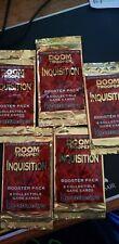 5 Doom Trooper Inquisition Booster Packs CCG HeartBreaker SEALED NEW