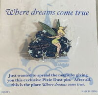 WDW DISNEY 2007 Where Dreams Come True - Tinker Bell Pixie Dust PIN - PP #52755