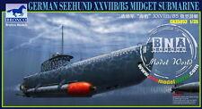 "Bronco Model kit 1/35 German ""Seehund"" XXVIIB/B5 Midget Submarine #CB35053"