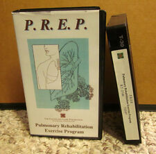 PULMONARY REHABILITATION Exercise Program VHS Cleveland Clinic 1997 counseling