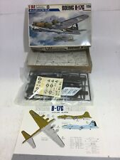 VINTAGE CROWN 39 MODEL KIT 1:144 BOEING B-17G UNOPENED PARTS IN BAG JAPAN 434300