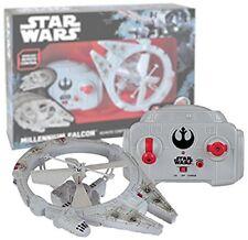 Thinkway Toys Star Wars RC Vehicle Flying Drone Millenium Falcon 2 *clcshop/giw*