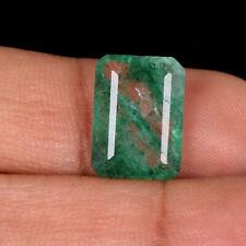 Loose Natural Green Emerald 4.50 Ct. Brilliant Emerald Cut Loose Gemstone DJ-404