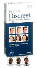 RESTORIA DISCREET COLOUR RESTORING CREAM HAIR CARE NATURAL COLOR TREATMENT 150ml