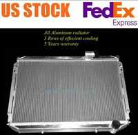 ALUMINUM RADIATOR FOR NISSAN 300ZX 3.0L V6 1984-1989 84 85 86 87 88 89 3 ROWS