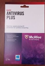Lot of 100 Units of New/McAfee Antivirus Plus, New/Free Shipping