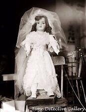 A circa 1915 Bride Doll - Historic Photo Print