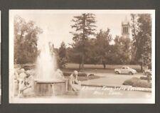 Vtg RPPC Postcard A Scene at Iowa State College Ames IA