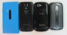 Lot of 4 Assorted Cell Phones-AS-IS for parts/repair only