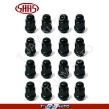 Black Lug Nuts Set of 16 x 14mm x 1.5 Holden Commodore VE VF