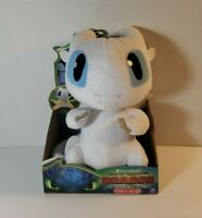 "How to Train Your Dragon3 The Hidden World Squeeze and Growl Lightfury 10"" Plush"
