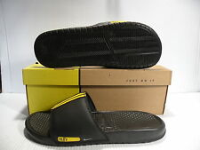 "NIKE BENASSI ""LANCE ARMSTRONG"" MEN SHOES/SANDALS BLACK 312066-071 SIZE 14 NEW"