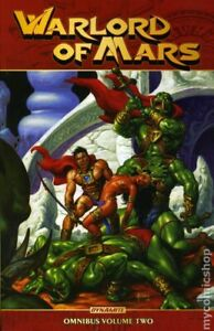 Warlord of Mars Omnibus TPB 2-1ST FN 2018 Stock Image
