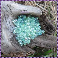 150 Perles de bohème facette 5 mm Tchèque coloris Chrysolite  AB