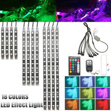 Motorcycle LED Neon Under Glow Lights Strip Kit For Harley Davidson / Extension