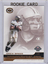 DREW BREES RC Top of the Class 2001 DRAFT ROOKIE CARD Football NOLA SAINTS!