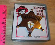 Alaska Ranger Metal Badge for Kids - about 1960 time frame - no pin - slips on