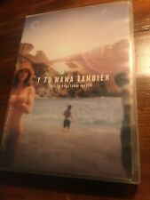 Y Tu Mama Tambien (Dvd, 2014, 2-Disc Set, Criterion Collection) #723 w/ Insert