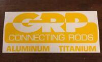 "MGP Connecting Rods Decal-NHRA-NASCAR-Drag Racing-Street Outlaws-Lg 8.75""x 3.5"""