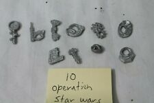 10 Operation Game Pieces STAR WARS Plastic Replacement Parts Funatomy