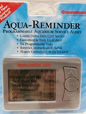 New Marineland Aqua-Reminder Programmable Aquarium Service Alert, Free Shipping