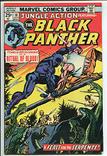 Jungle Action #16 - Ritual of Blood/Black Panther - 1975 (Grade 6.5)
