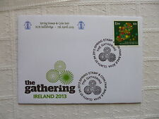 2013 Ireland RDS Spring Stamp Show Souvenir Cover the Gathering