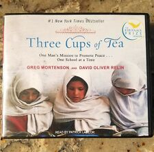 Three Cups of Tea by Greg Mortenson & David Relin (2006, CD, Unabridged) 11 cd's