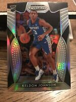 2019-20 Prizm Draft Picks Keldon Johnson Silver Prizm RC Rookie Card #29