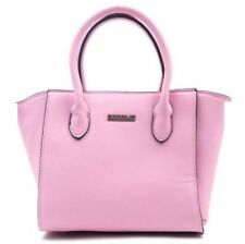 Fashionable Synthetic Leather Bag Sling Top Handle Bag 358 (Pink)