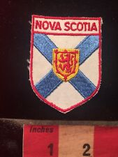Nova Scotia Canada Flag Themed Patch 79GG