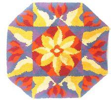 70er Jahre Hochfloor Wollteppich Op Art Design Teppich Readicut