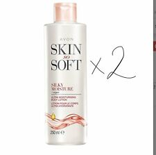 2X  Avon Skin So Soft Silky Moisture Ultra Body Lotion 250 ml  NEW stock