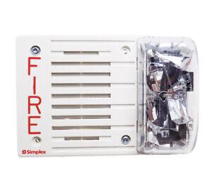 SIMPLEX 4903-9193 - S/V 24VDC 15CD HORIZ F/S White