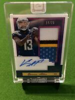 2019 Panini One Patch Auto #141 Keenan Allen 🔥🔥🔥 /25 - San Diego Chargers