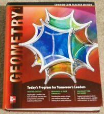 Glencoe Geometry Teacher's Edition Common Core 9780076639304