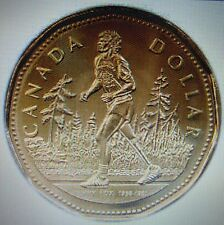 2005 TERRY FOX $1 CANADIAN LOONIE UNCIRCULATED COIN FROM MINT ROLLS