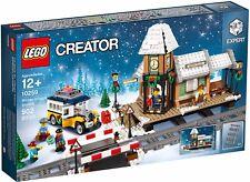 LEGO CRÉATEUR COLLECTIONNEURS 10259 STATION DU VILLAGE POUR L'HIVER NEUF