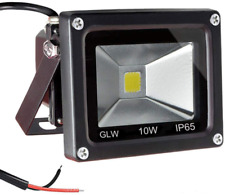 Glw 12V Ac or Dc Led Flood Light,10W Mini Ip65 Waterproof Outdoor Light,900Lm,60