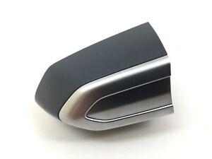 13-18 Cadillac ATS 14-19 CTS Passenger Front Door Silver Lock Cylinder Cover Cap