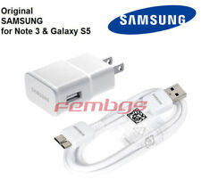 New OEM Original Samsung USB Wall Charger Data Sync Cable For Galaxy S5 & Note 3