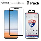 [1-Pack] Glasave Full Cover Tempered Glass Screen Protector Film For LG G7 ThinQ