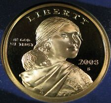 2008 S Sacagawea Dollar Deep Cameo Proof Coin