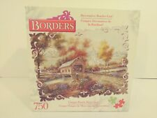 Borders Razzberry Creek Crossing. 750 Piece Puzzle. 2003